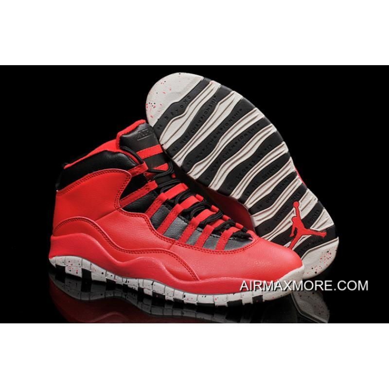 """c84a56f69dbe Where To Buy New Air Jordan 10 """"Gym Red"""" ..."""