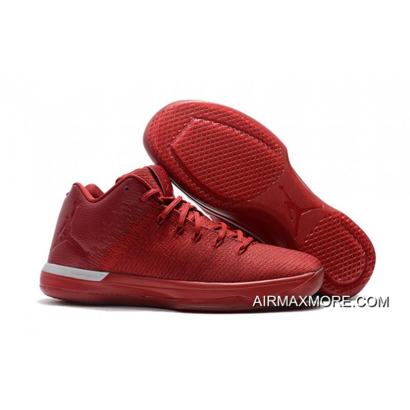 Best Air Jordan 31 Low Chicago Away Gym Red Action Chrome