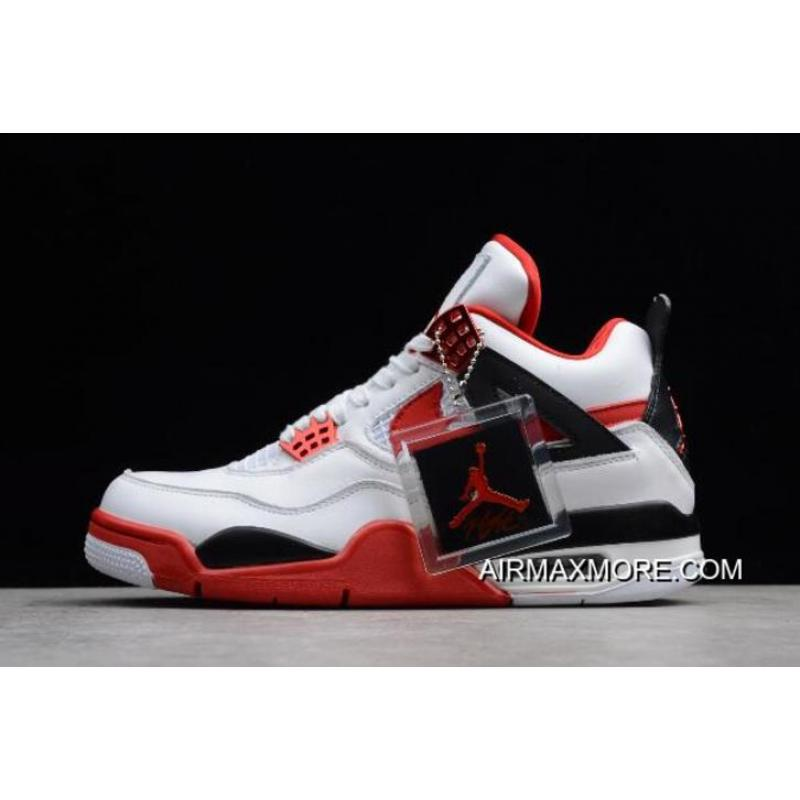"sneakers for cheap d2dff 30095 NIKEiD Air Jordan 4 ""Fire Red"" For Sale ..."