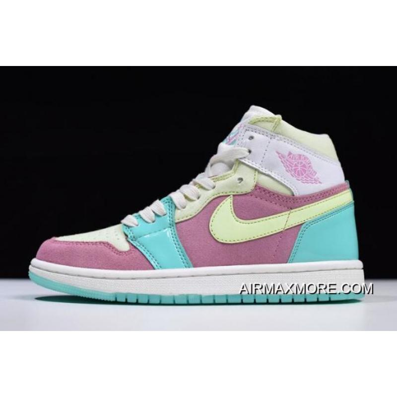 "Women Air Jordan 1 GS ""Easter"" 555112-400 Buy Now ... 0568c2ded"