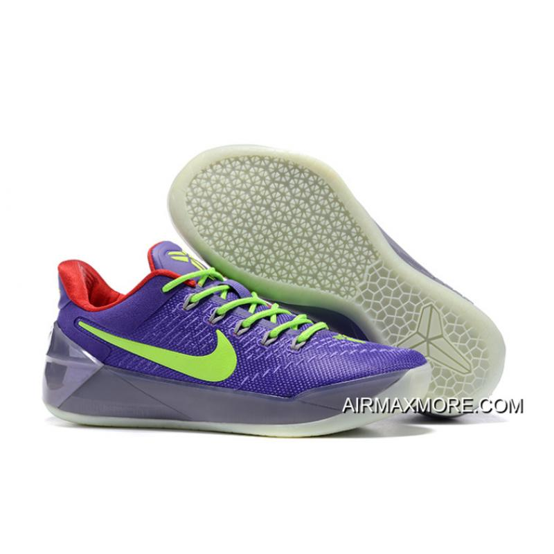 low priced 6839b 04a63 Girls Nike Kobe A.D. Purple Green Red Best
