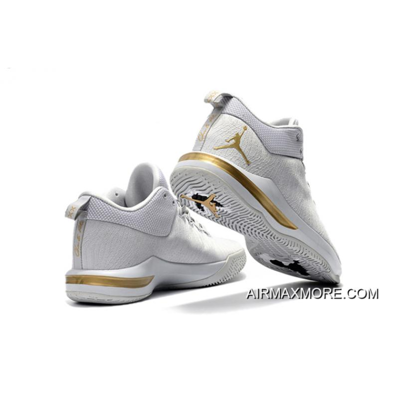 43aed40e1909f8 ... New Style Jordan CP3.X AE Wolf Grey Metallic Gold Black ...