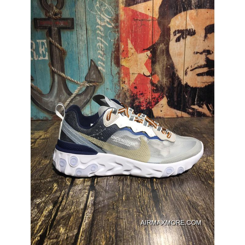 16a12637c216 Nike Epic React Element 87 UNDERCOVER 3.0 Super Running Shoes AQ1813-341  For Sale ...