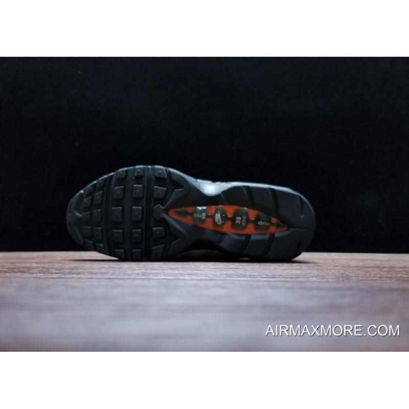 "the latest 4d9bc cde05 ... Nike Air Max 95 ""Greedy"" Black Safety Orange Volt Latest ..."