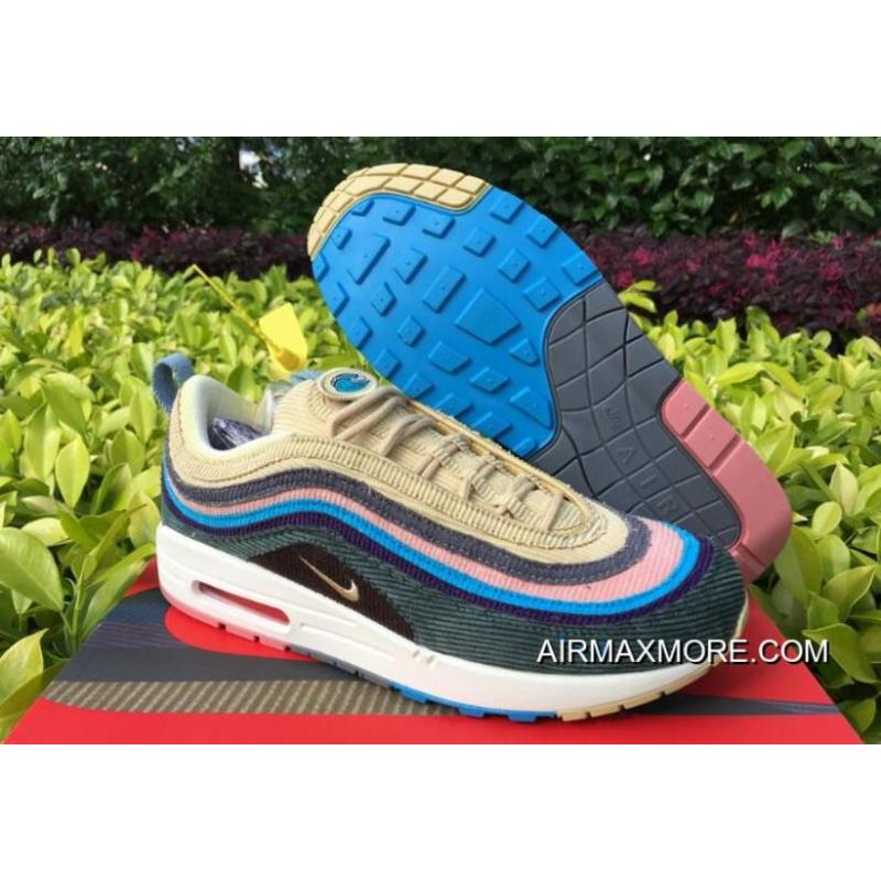 "save off bd69e c1856 Nike Air Max 1/97 ""Sean Wotherspoon"" Light Blue Fury/Lemon Wash Outlet"