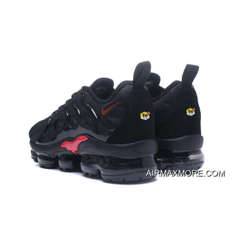 c34dbc5d053b8 ... Nike Air VaporMax Plus Black Red For Sale