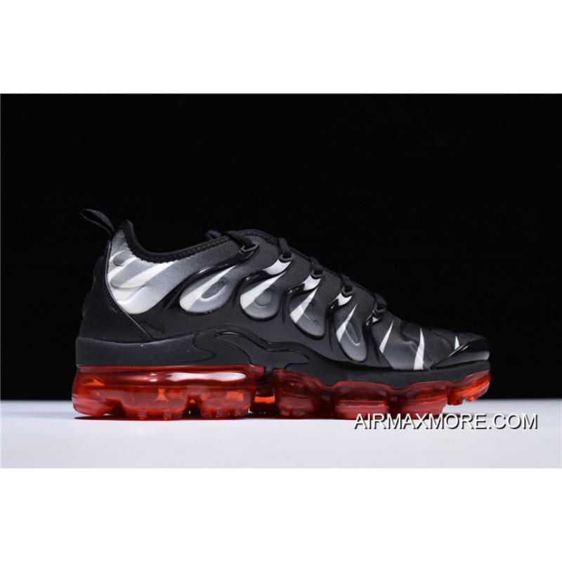 1bf932422a8 ... Best Nike Air Vapormax Plus 2018 Black Speed Red-White ...