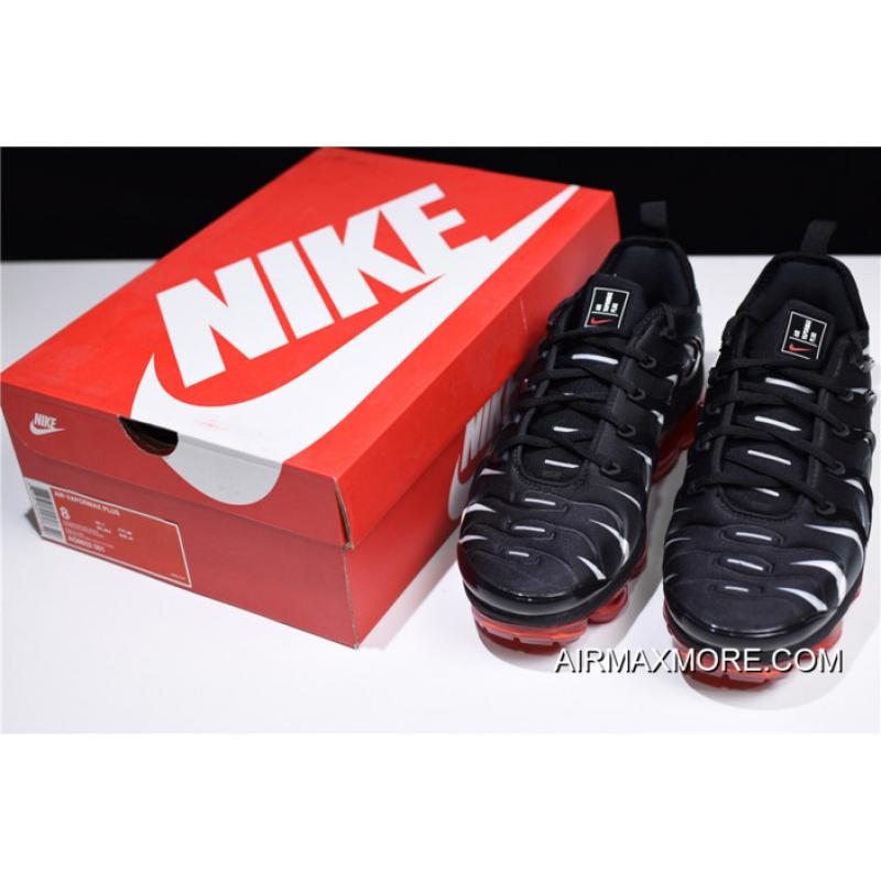 0514d2d185aa0 ... Best Nike Air Vapormax Plus 2018 Black Speed Red-White ...
