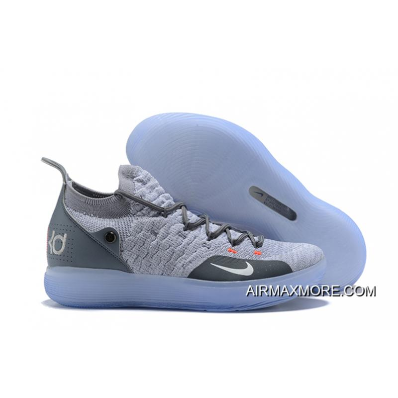 "finest selection 2e16f 120f5 Free Shipping Nike KD 11 ""Cool Grey"" Men s Basketball Shoes ..."