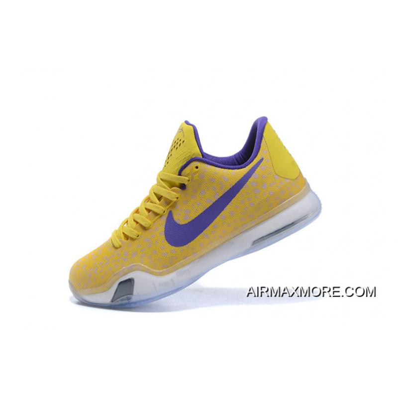 outlet store d2c17 d2703 where to buy kobe 10 safari print yellow purple outlet fc1db 40605