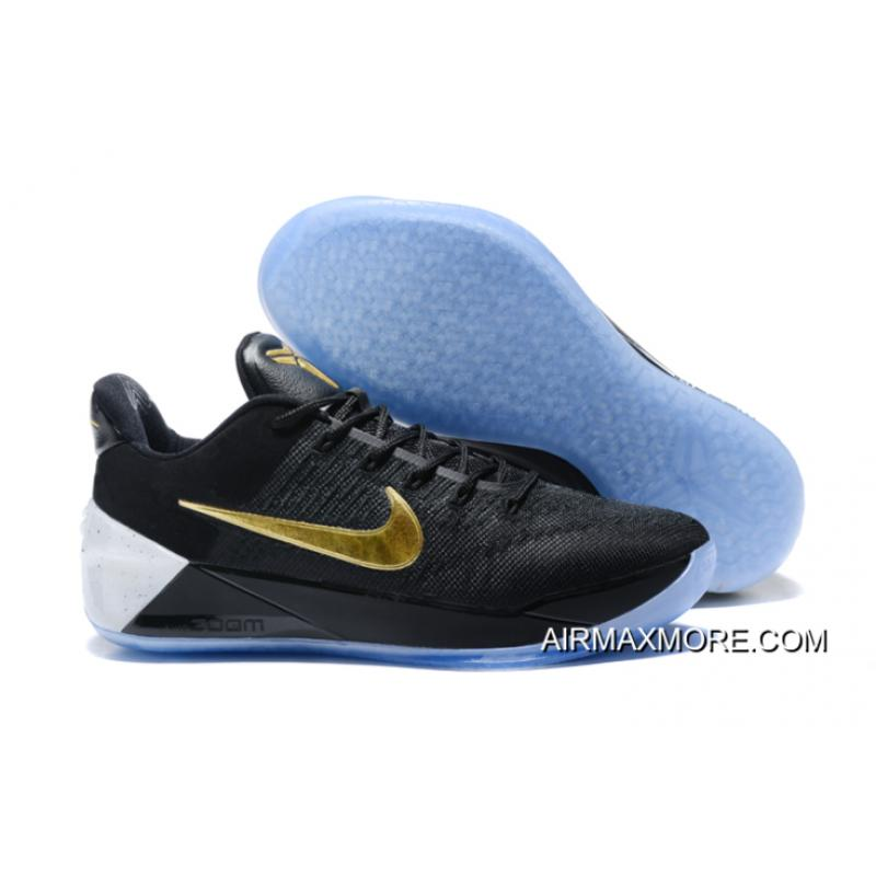f6850e6196c40 ... norway nike kobe a.d. black metallic gold white discount 647d1 9f743