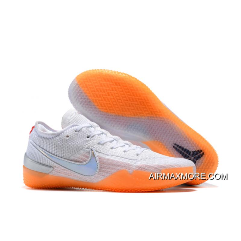 "best service 4a701 e112e Top Deals Nike Kobe AD NXT 360 ""Infrared"" White/Black-Infrared 23-Volt"
