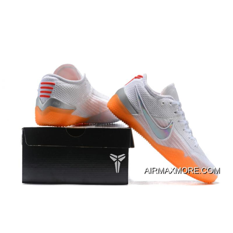 """ab0418c18cad Top Deals Nike Kobe AD NXT 360 """"Infrared"""" White Black-Infrared 23 ..."""