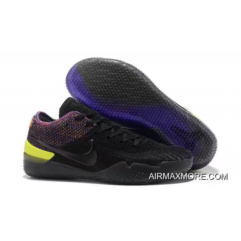 "sale retailer be473 a3885 New Release Nike Kobe AD NXT 360 ""Black Multicolor"""