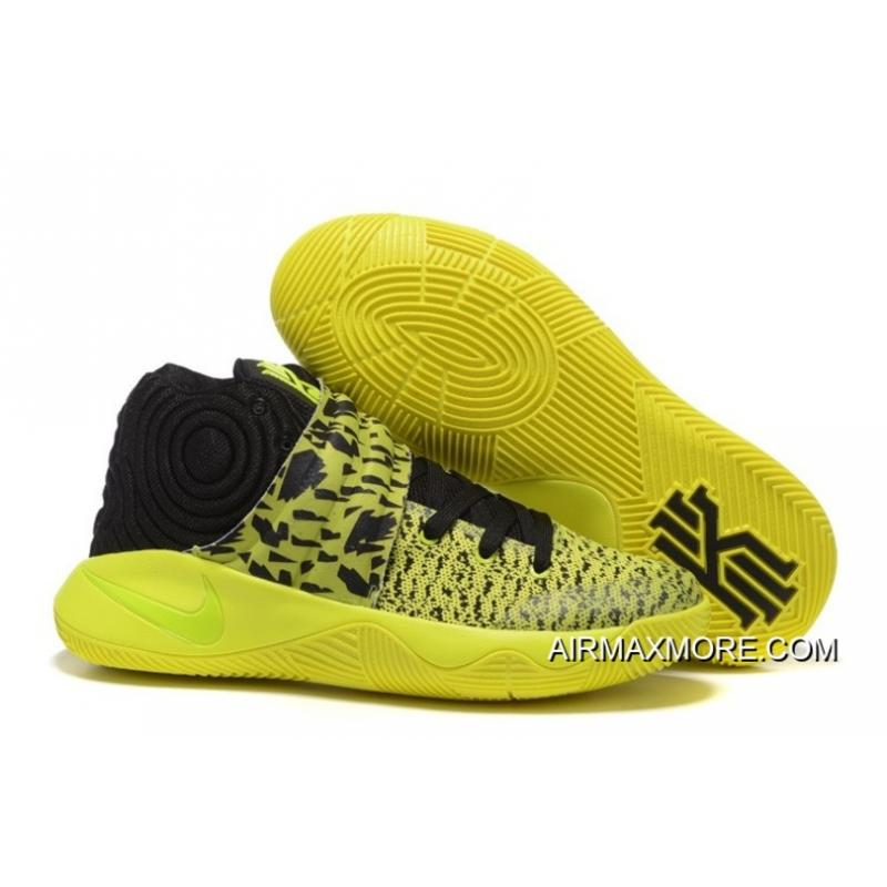 promo code cae9a 13337 New Style Nike Kyrie 2 Yellow/Volt-Black