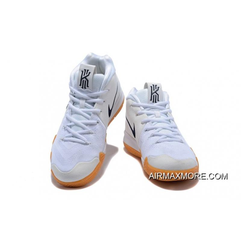 """best service ac217 63aba ... Nike Kyrie 4 """"White Gum"""" New Year Deals ..."""