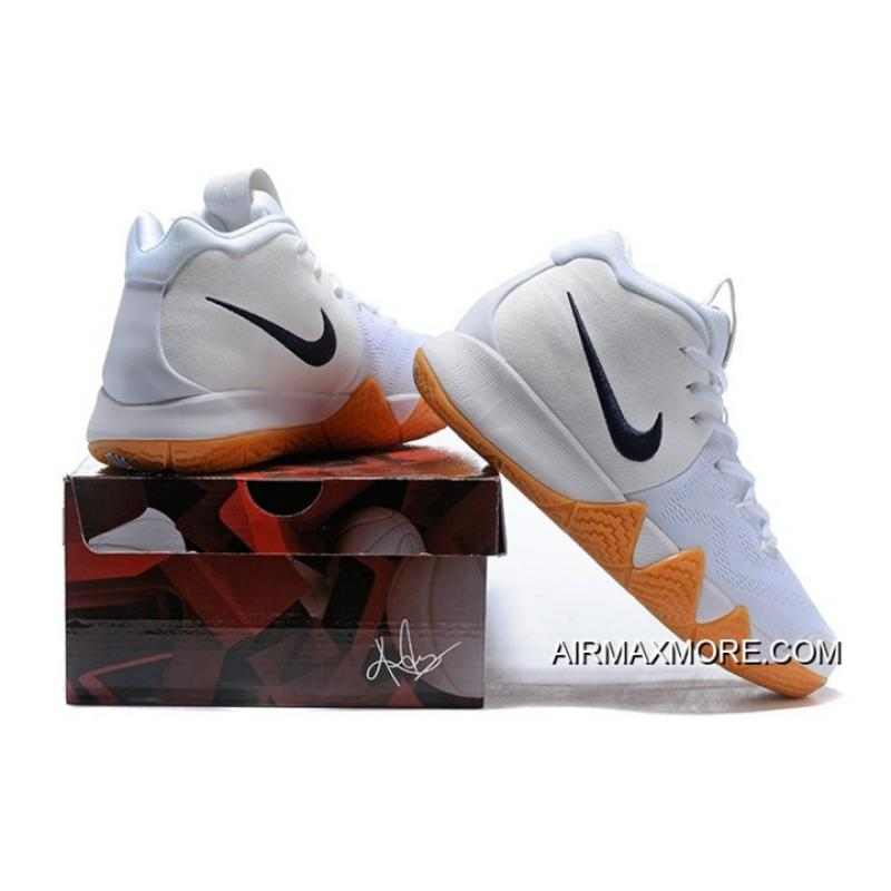 "best service 98f4d 59100 ... Nike Kyrie 4 ""White Gum"" New Year Deals"