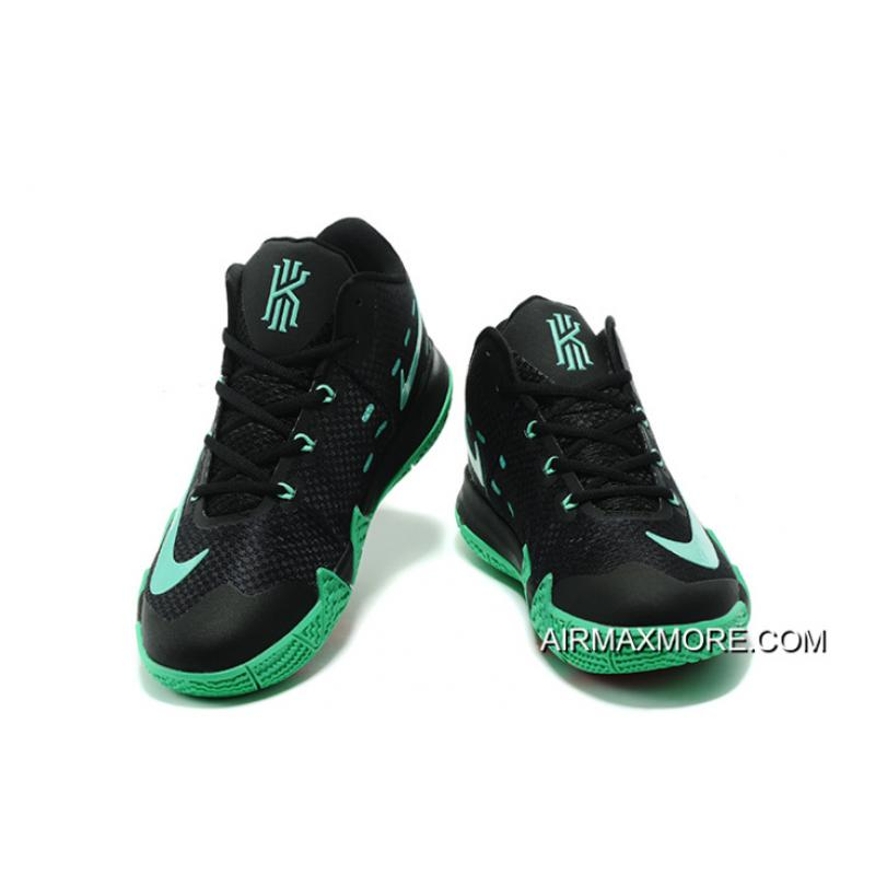the best attitude 49afe b87f1 ... coupon code nike kyrie 4 black green red big deals 2e052 02b5a
