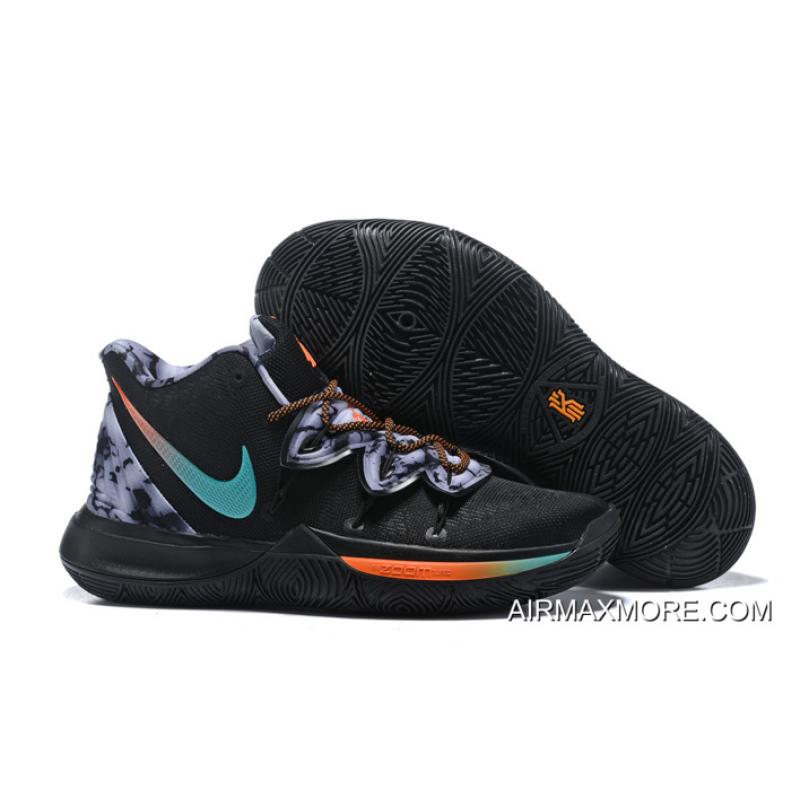 531c3cee068d Tax Free Nike Kyrie 5 Black Multi-Color ...