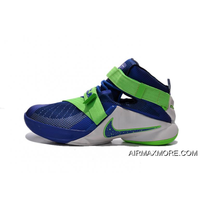 """the latest 1225c f880f Nike LeBron Soldier 9 """"Sprite"""" Basketball Shoe New Style, Price ..."""