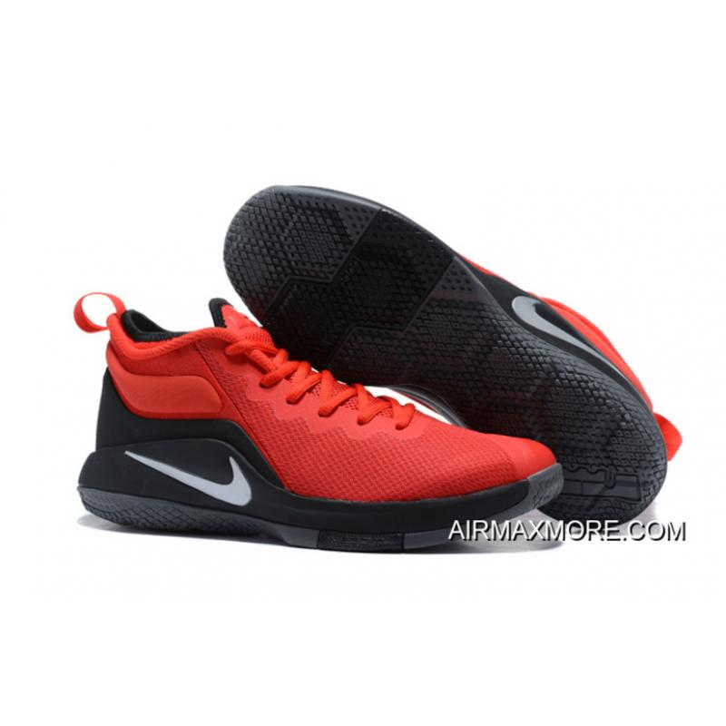 55207165a7a Where To Buy Nike LeBron Zoom Witness 2 Red Black Basketball Shoes ...