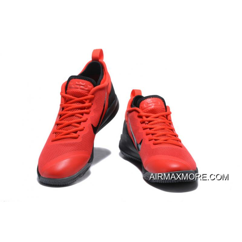 e7f921f4107d7 ... Where To Buy Nike LeBron Zoom Witness 2 Red Black Basketball Shoes ...