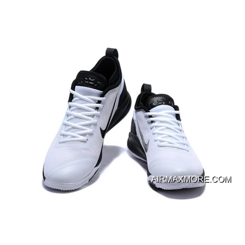 cacc33a8f3bf ... Nike LeBron Zoom Witness 2 White Black Basketball Shoes Buy Now ...