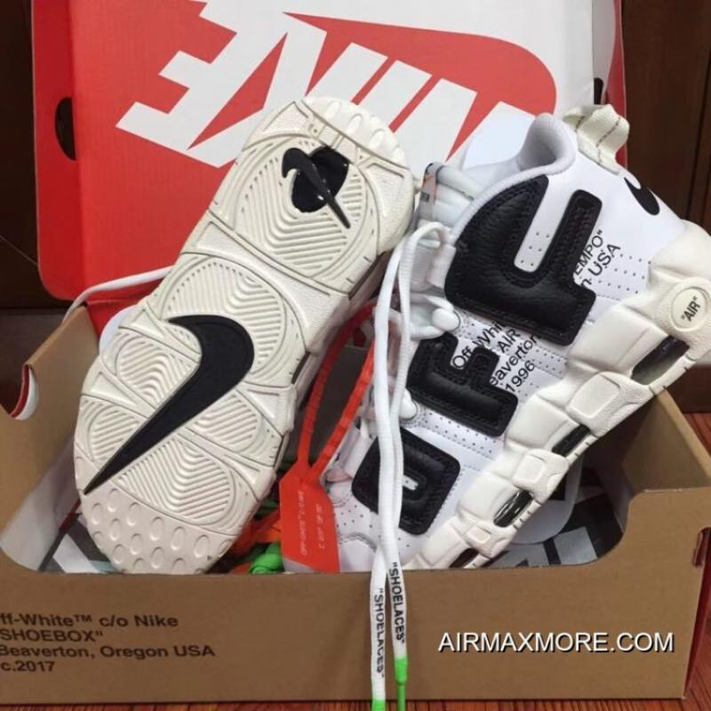 efd7bb3b94 Latest Off-White X Nike Air More Uptempo, Price: $106.30 - Nike ...