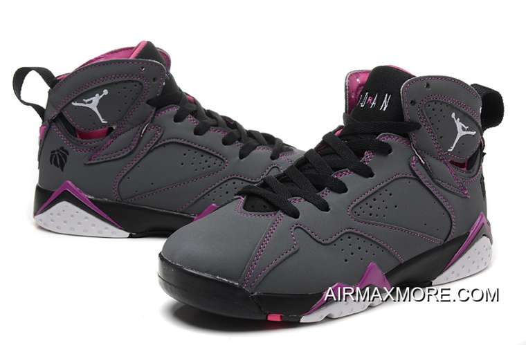 "4f8bbb7a2ea316 Women New Air Jordan 7 GS ""Valentines Day"" New Release"