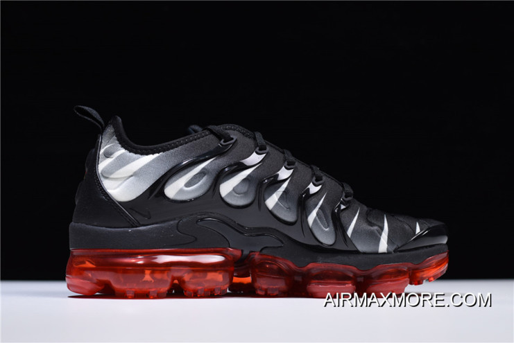superior quality d6312 b15f0 Best Nike Air Vapormax Plus 2018 Black/Speed Red-White