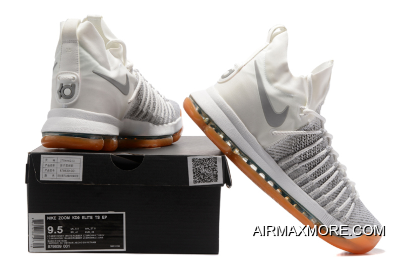 """sports shoes bd91c ad681 Nike Zoom KD 9 Elite """"Ivory"""" Pale Grey-Ivory For Sale"""