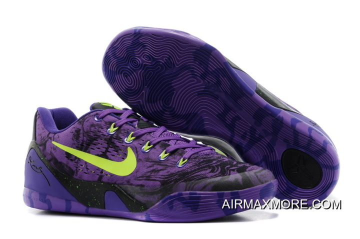 watch d64cb 60063 New Year Deals Nike Kobe 9 Low EM XDR Purple Volt